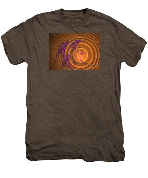 An Echo From The Past - Abstract Art Men's Premium T-Shirt