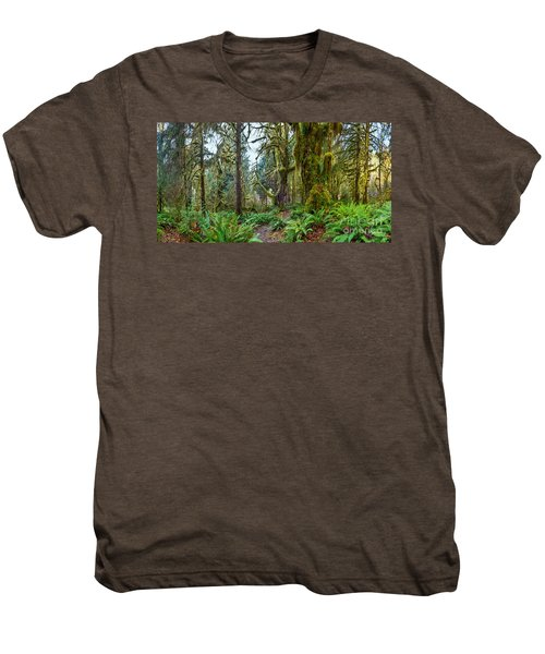 Ancient Forest Panorama Men's Premium T-Shirt