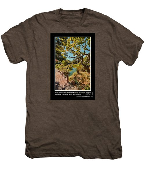 And So In This Moment With Sunlight Above Men's Premium T-Shirt by Jim Fitzpatrick