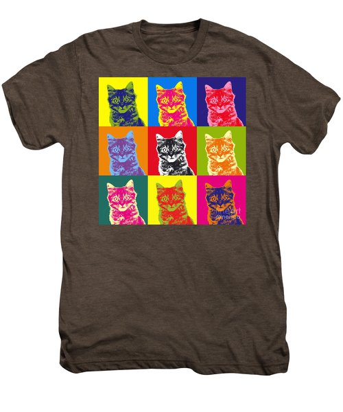 Andy Warhol Cat Men's Premium T-Shirt