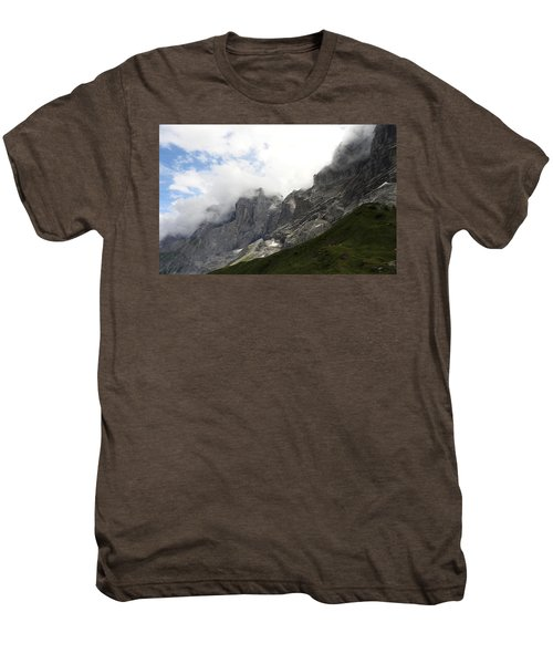Angel Horns In The Clouds Men's Premium T-Shirt