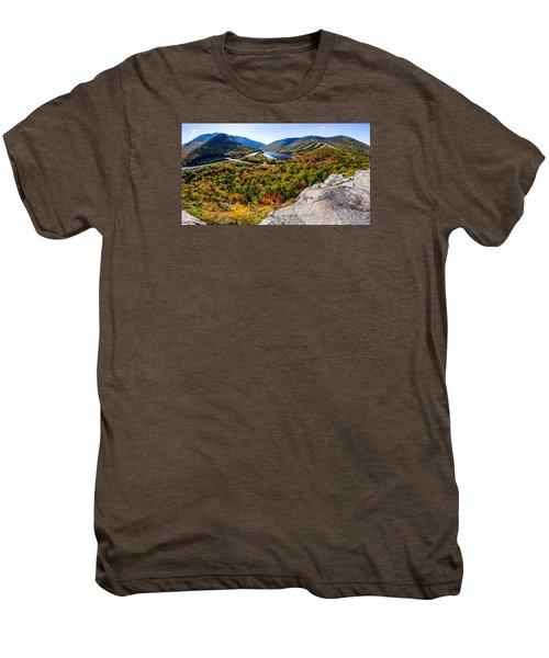Artists Bluff, Franconia Notch Men's Premium T-Shirt