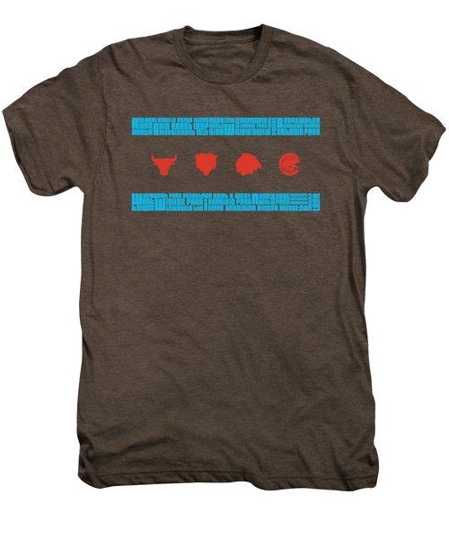 Chicago Flag Sports Teams Men's Premium T-Shirt