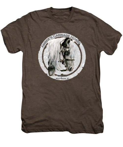 Amber's Carriage Horse Men's Premium T-Shirt