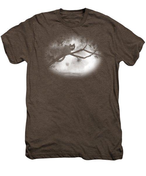 Chat Dans L'arbre Men's Premium T-Shirt