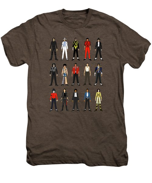 Outfits Of Michael Jackson Men's Premium T-Shirt