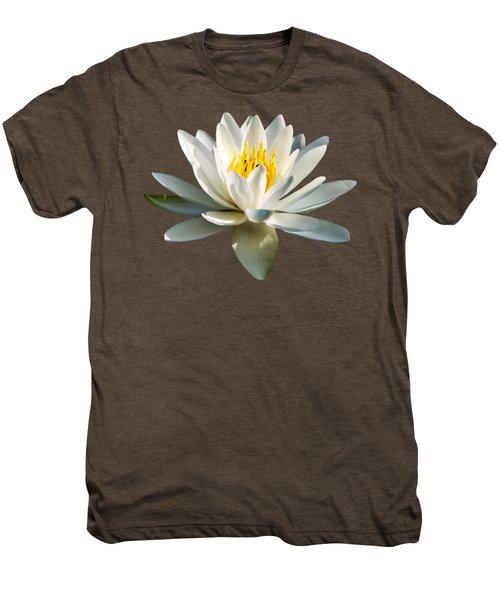 White Water Lily Men's Premium T-Shirt
