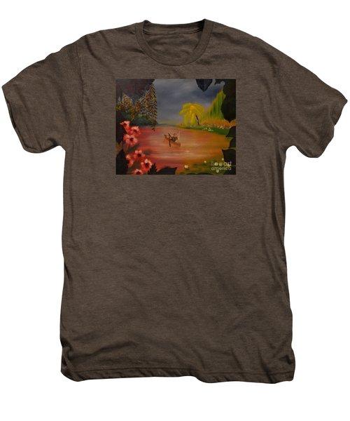 Asian Lillies Men's Premium T-Shirt