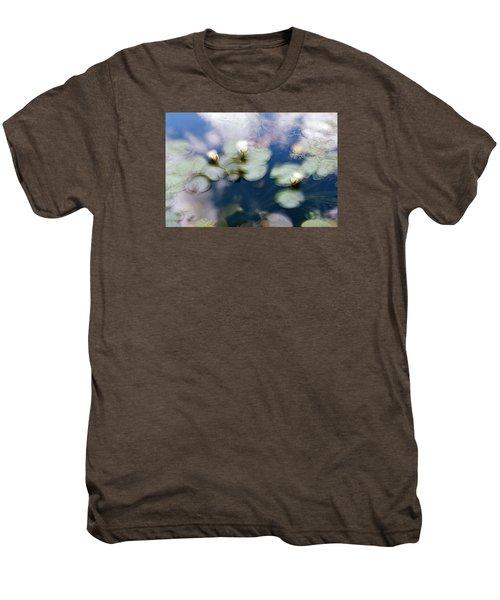 At Claude Monet's Water Garden 4 Men's Premium T-Shirt