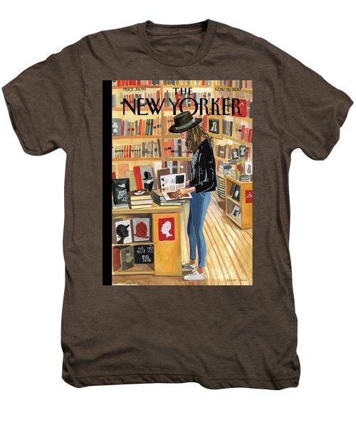 At The Strand Men's Premium T-Shirt