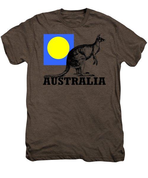 Australia-kangaroo Men's Premium T-Shirt