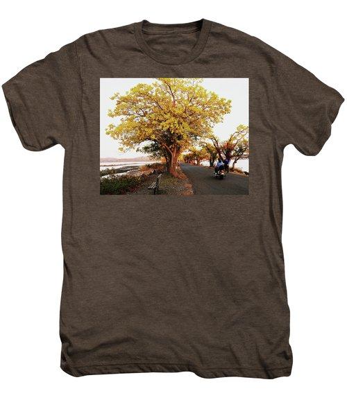 Autumn Causeway Men's Premium T-Shirt