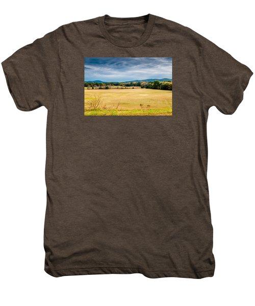Autumn Field Men's Premium T-Shirt