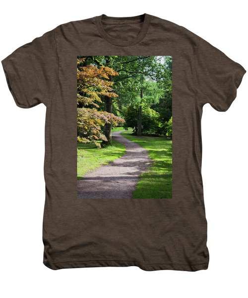 Autumn Forest Path Men's Premium T-Shirt