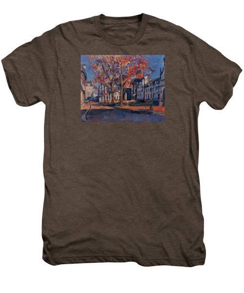 Autumn On The Square Of Our Lady Maastricht Men's Premium T-Shirt