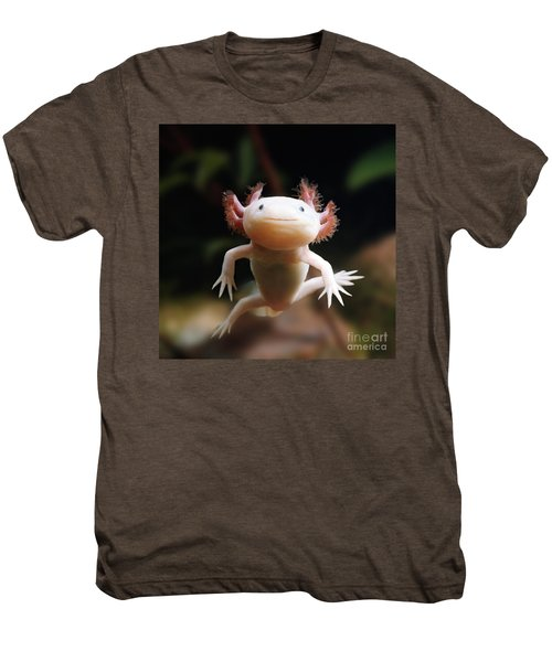 Axolotl Face Men's Premium T-Shirt