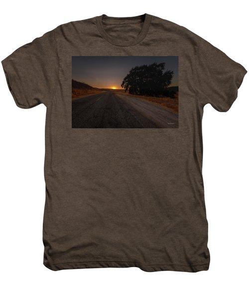 Back Road From Bradley Men's Premium T-Shirt