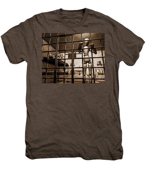 Bail Denied  Men's Premium T-Shirt by Bob Orsillo