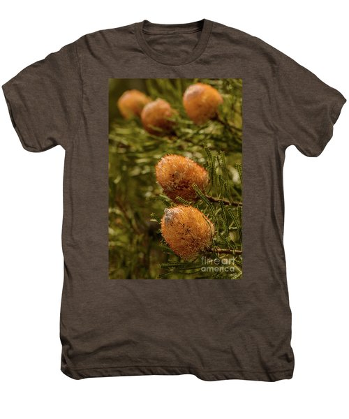 Men's Premium T-Shirt featuring the photograph Banksia by Werner Padarin