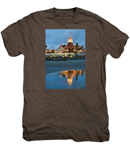 Beach Lights Men's Premium T-Shirt