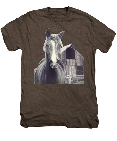 Beauty And The Barn Men's Premium T-Shirt