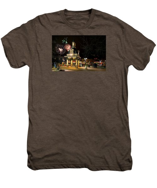 Beaver Light Up Night  Men's Premium T-Shirt