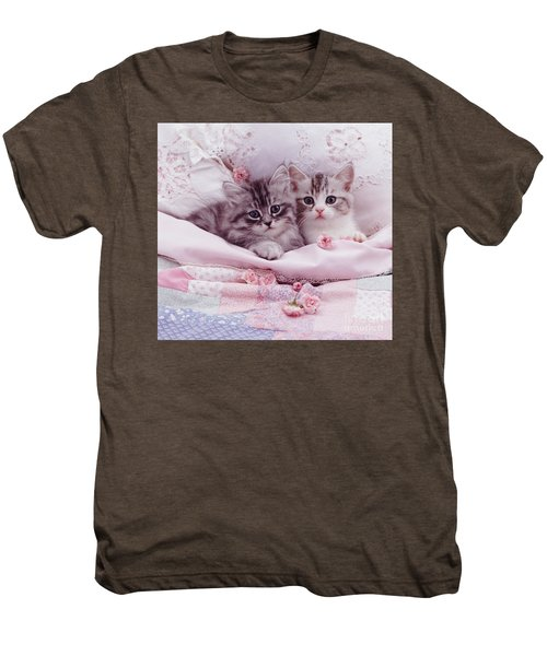 Bedtime Kitties Men's Premium T-Shirt