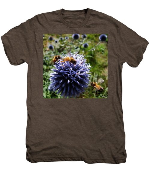 Bee Circles Men's Premium T-Shirt