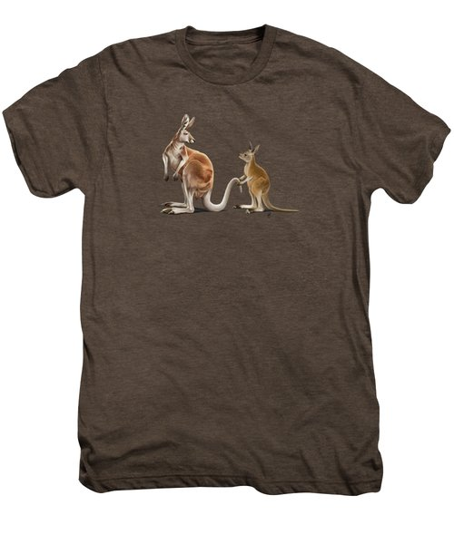 Being Tailed Wordless Men's Premium T-Shirt by Rob Snow