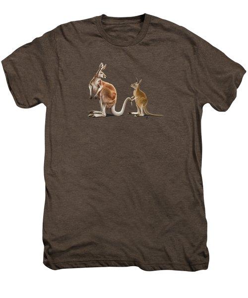 Being Tailed Wordless Men's Premium T-Shirt