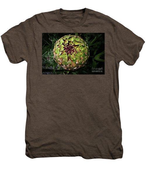 Big Fat Green Artichoke Men's Premium T-Shirt