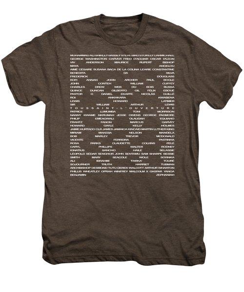 Black Excellence II Men's Premium T-Shirt