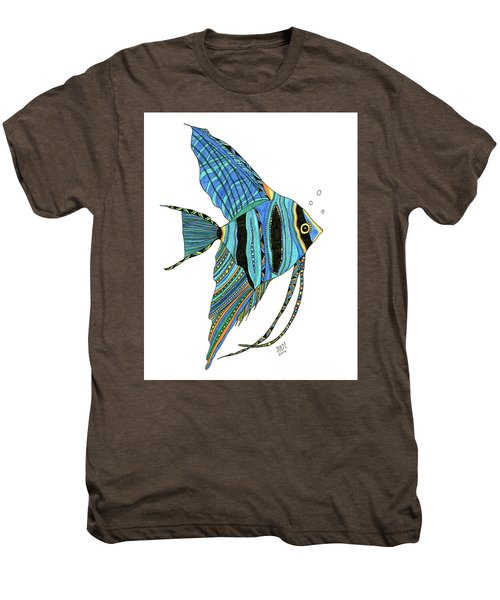 Blue Anglefish Men's Premium T-Shirt