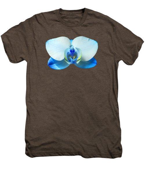 Blue Orchid 1 Men's Premium T-Shirt by Scott Carruthers
