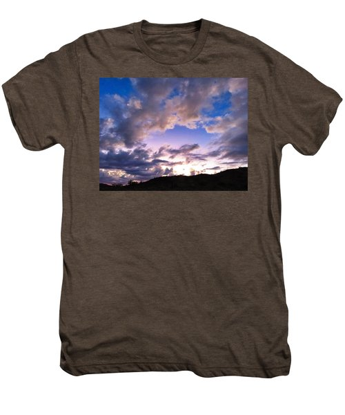 Blue Sunset Men's Premium T-Shirt
