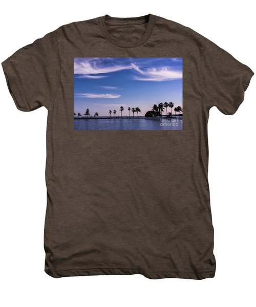 Blue Tropics Men's Premium T-Shirt