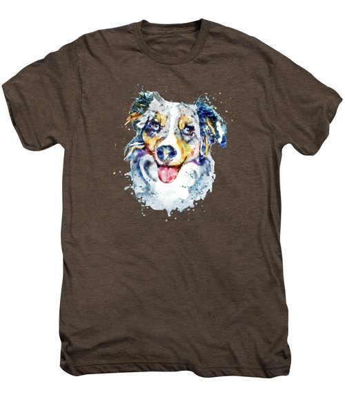 Border Collie  Men's Premium T-Shirt