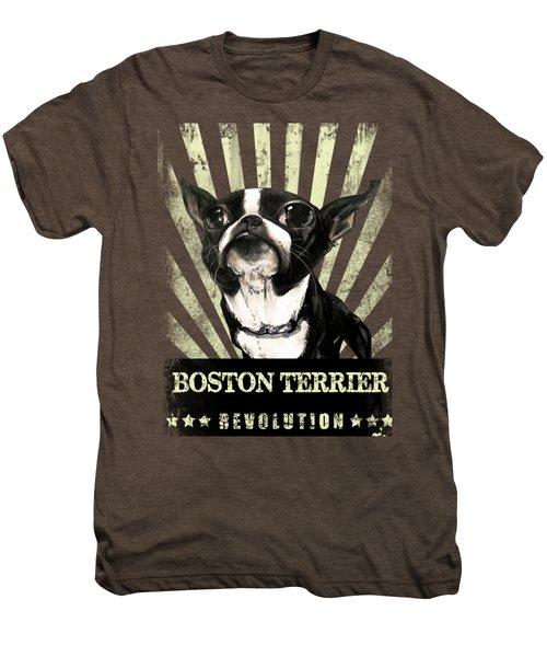 Boston Terrier Revolution Men's Premium T-Shirt