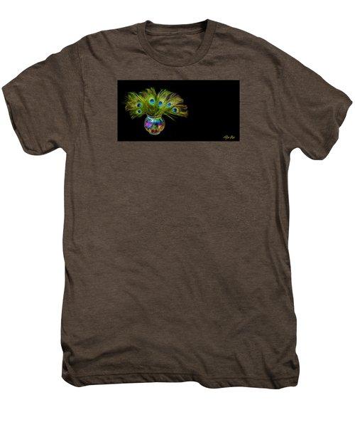 Bouquet Of Peacock Men's Premium T-Shirt by Rikk Flohr