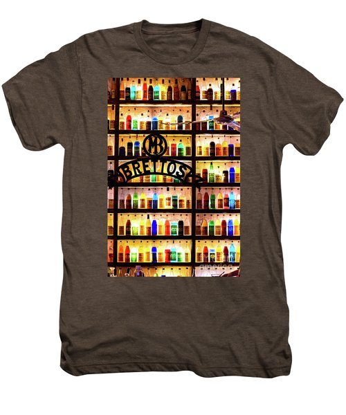 Brettos Bar In Athens, Greece - The Oldest Distillery In Athens Men's Premium T-Shirt