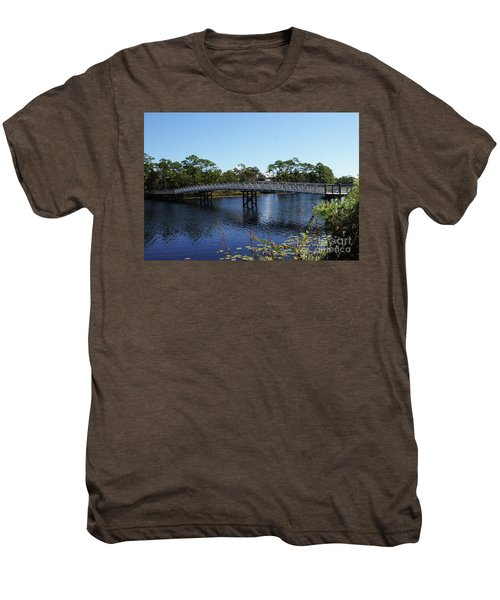 Western Lake Bridge Men's Premium T-Shirt