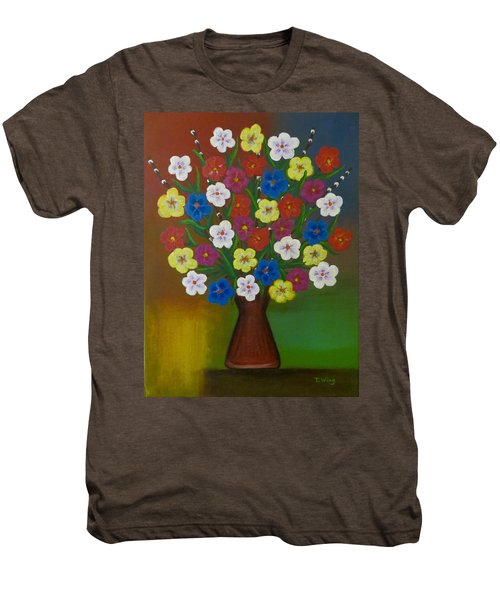 Brilliant Bouquet Men's Premium T-Shirt
