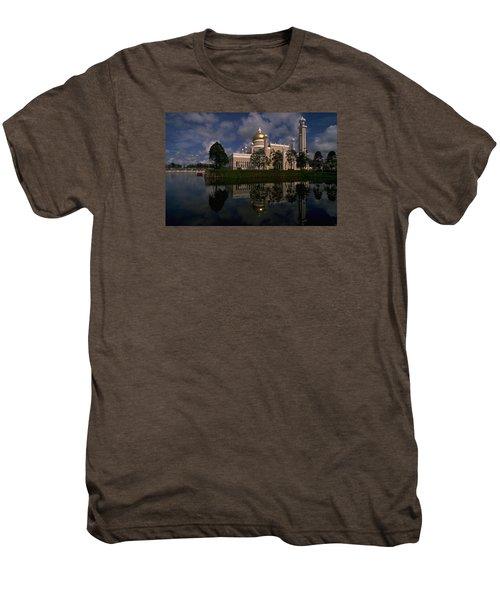 Brunei Mosque Men's Premium T-Shirt