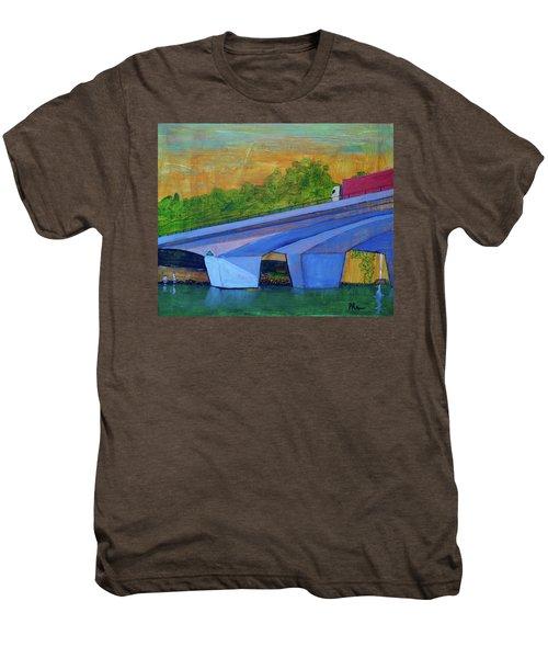 Brunswick River Bridge Men's Premium T-Shirt