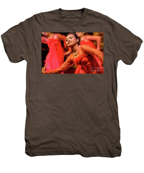 Burmese Dance 1 Men's Premium T-Shirt