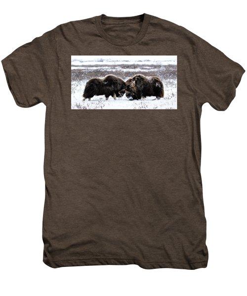 Butting Heads Men's Premium T-Shirt