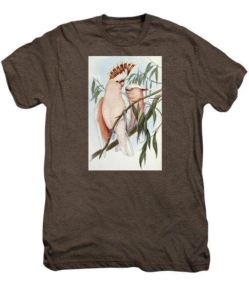 Cacatua Leadbeateri Men's Premium T-Shirt by John Gould
