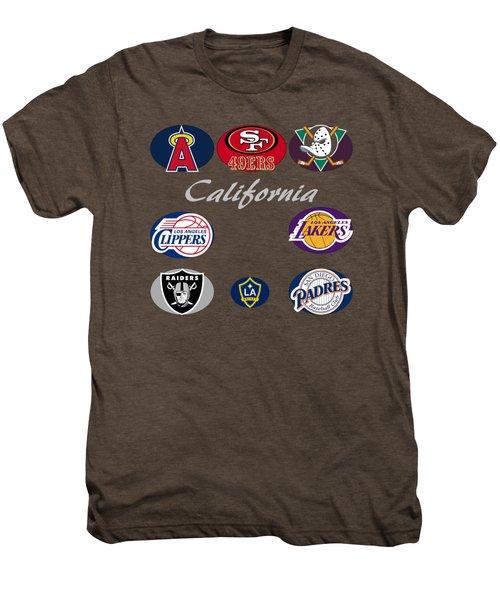 California Professional Sport Teams Collage  Men's Premium T-Shirt