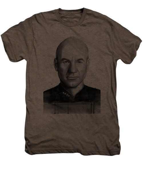 Captain Picard Men's Premium T-Shirt