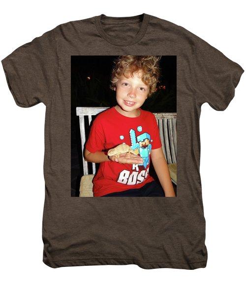 Caring For Chameleons 1 Men's Premium T-Shirt